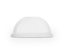 96mm PLA Dome Lid, Straw Hole
