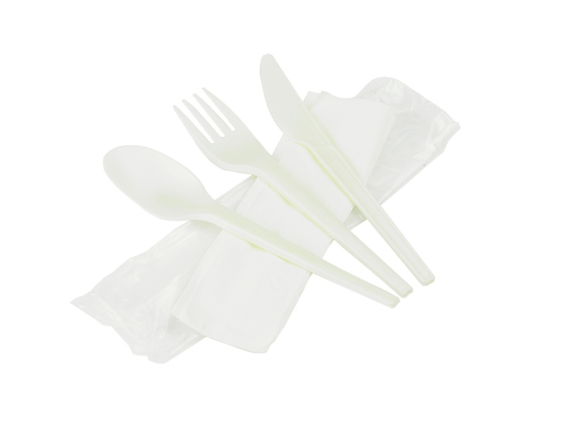 Compostable RCPLA Cutlery Kit