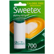 Sweetex Calorie Free Sweetener Tablets 700s