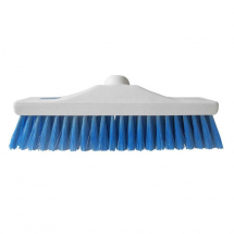 12inch Blue Hygiene Stiff Broom Head