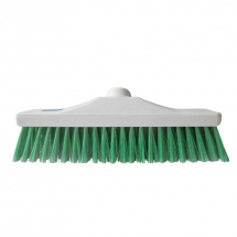Green Stiff Hygiene Broom Head
