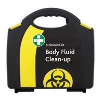 [RBD] CB260 Body Fluid Spill Kit in yellow carry box