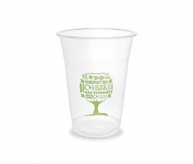 16oz Standard PLA Cold Cup - Green Tree