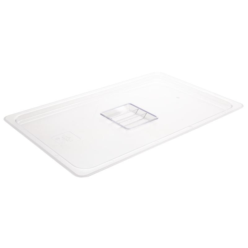 Vogue Polycarbonate Clear Lid for 1/1 Gastronorm