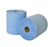 Leonardo 2ply 175m Laminated Control Blue Roll