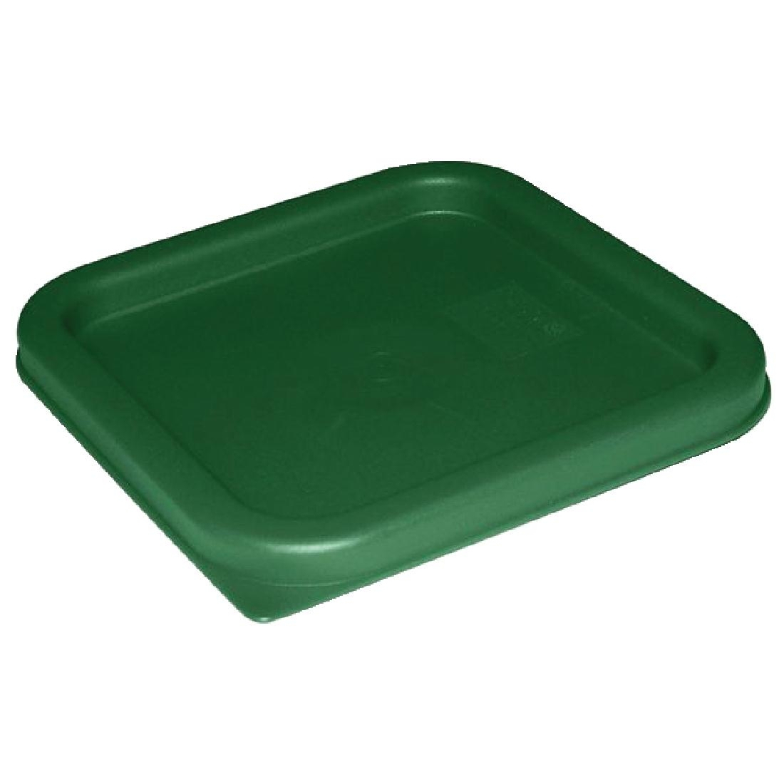 Vogue Large Square Lid - Green