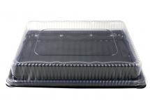 Small Clear Platter Lid 355x255mm - New