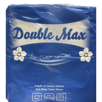2Ply White Luxury Toilet Rolls 320 Sheet