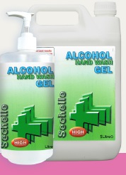 Sechelle Alcohol Hand Wash Gel 2x5ltr