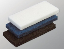 Blue DynaCross Edging Scrubbing Pad
