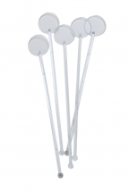 7inch Clear Disc Stirrers