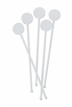 7inch White Disc Stirrers