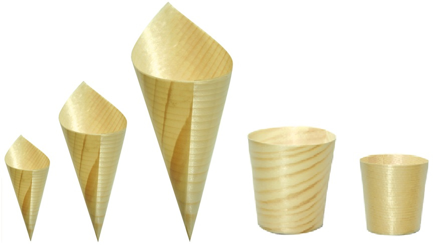 Kidei Cups & Cones Mixed Pack (5 assorted sizes)