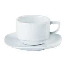 Square Stacking Tea Cup 20cl/7