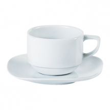 Square Stacking Teacup Saucer
