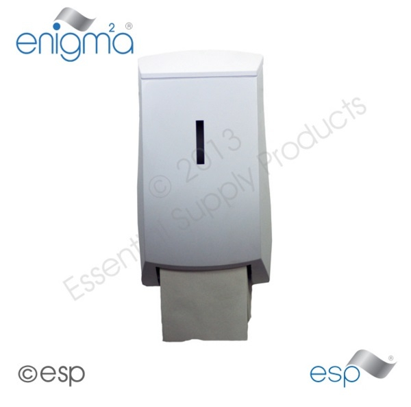 Dispenser E-Matic Toilet Roll Unbranded Plain Carton