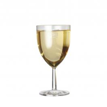 Plastic Wine Glasses 175ml