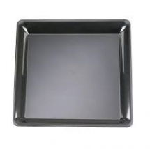 Black Rectangular Platter 46x30cm