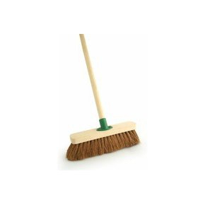 Yard Broom Complete With Handle 24inch