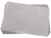 Lace Tray Paper Rectangular Doyley