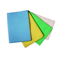Yellow Anti Bacterial Cloth