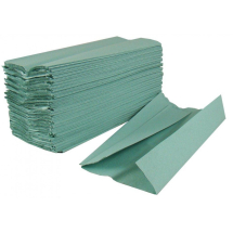 1 Ply Green Hand Towel