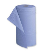 2 Ply Blue Couch Roll 10inch