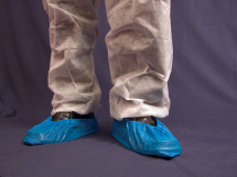 Blue Overshoes 16inch