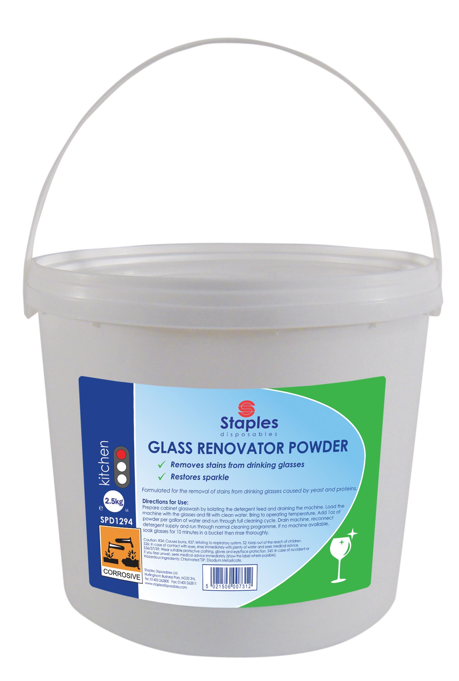 Glass Renovate 2.5kg Powder