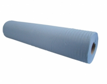 2 Ply Blue Couch Roll 20inch
