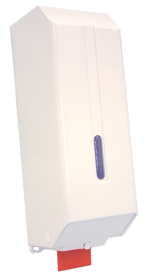 White Hysoap Cartridge Dispenser