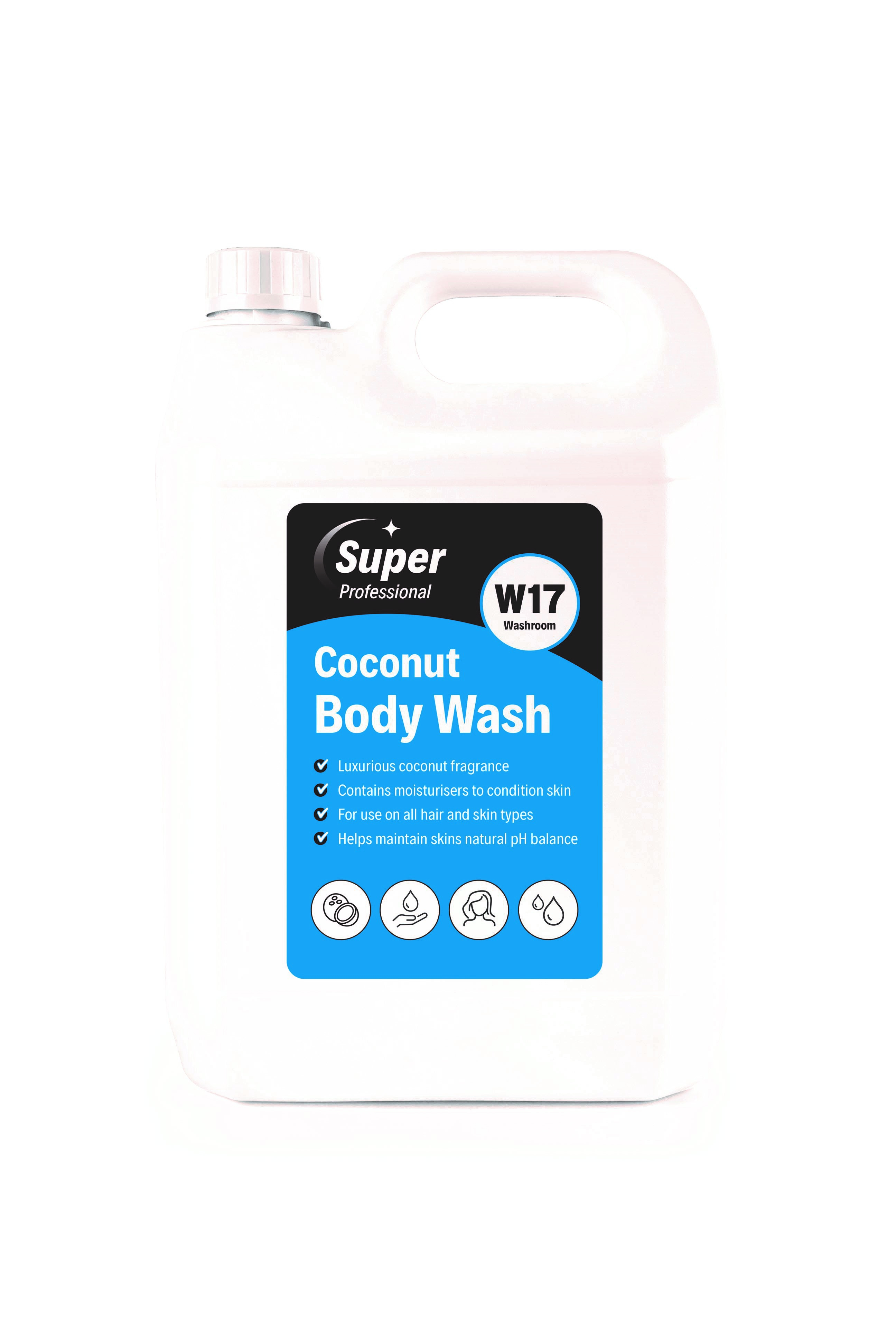 Super Coconut Body Wash 2x5ltr