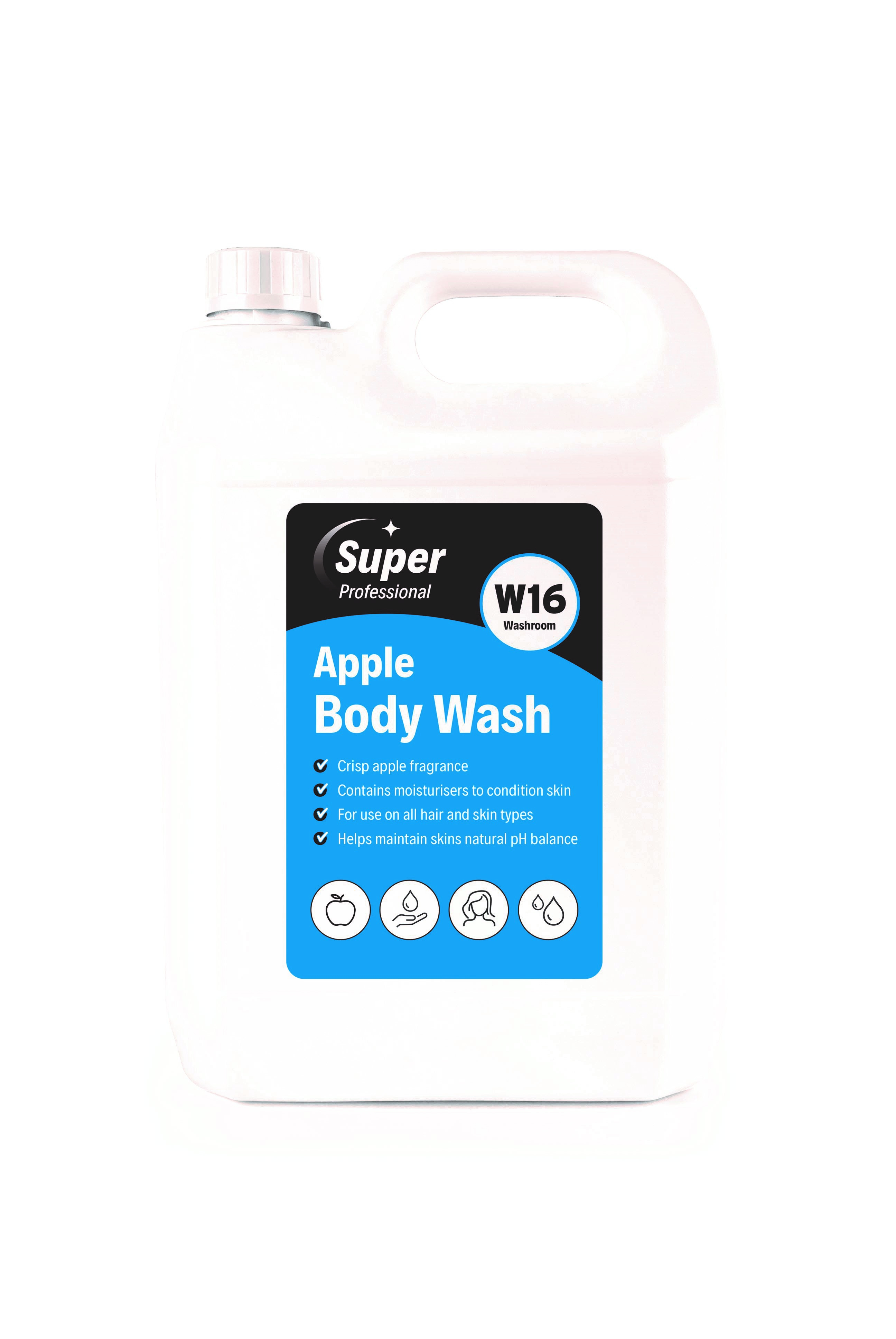 Super Apple Body Wash 2x5ltr