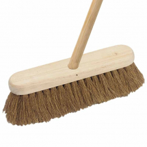 Soft Broom Complete with Handle 18inch