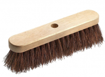 Stiff Broom Complete with Handle 12inch