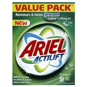 Ariel Bio washing Powder Actilift