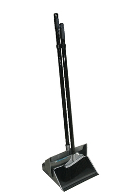 Black Lobby Dustpan and Brush