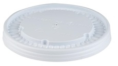 12oz White Vented Lid For Ecotainer<sup>(TM)</sup>