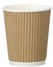 Go-Pak Kraft Triple Wall Ripple Cup 8oz