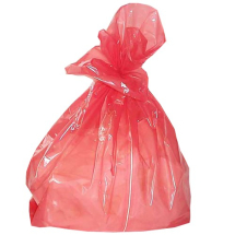 Red Soluble Laundry Bags 18/28x30inch