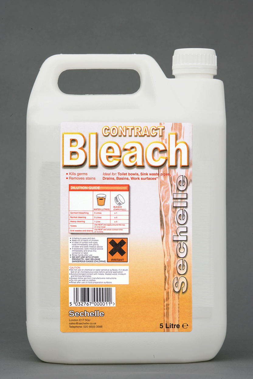 Sechelle Contract Bleach 2x5ltr
