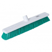 Green Hygiene Stiff Broom Head 18inch